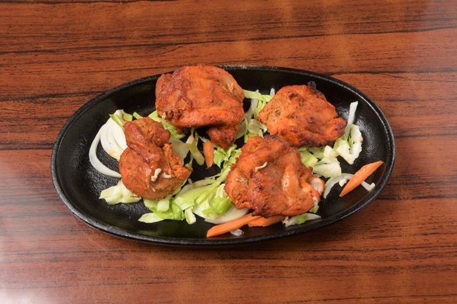 タンドリーチキンティッカ4個(Tandoori Chicken Tikka 4P)