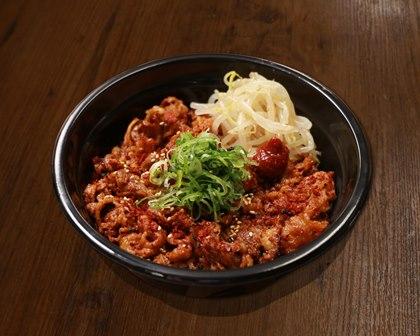 旨辛牛カルビ丼 Hot & Spicy Short Rib Beef Bowl