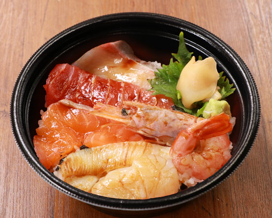漬け海鮮六種丼