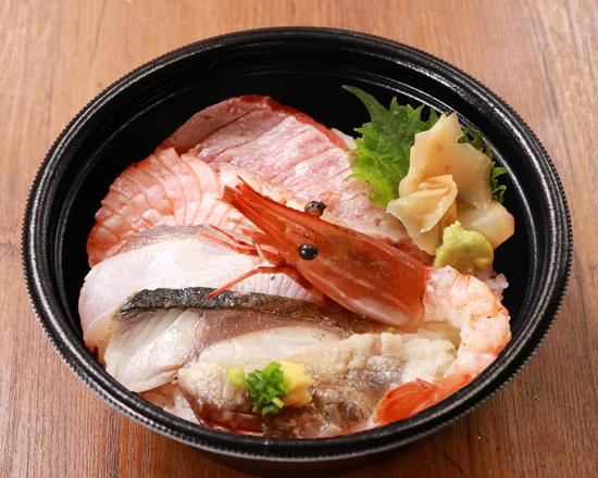 炙り海鮮六種丼