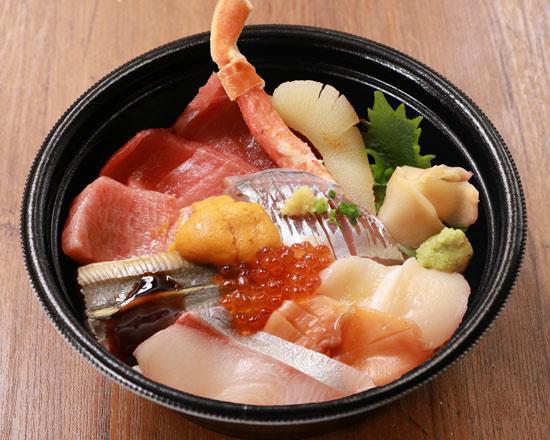 極上海鮮十二種丼