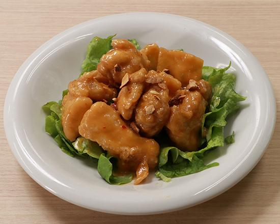 天下の鶏マヨ Stir-Fried Chicken with Mayonnaise Sauce