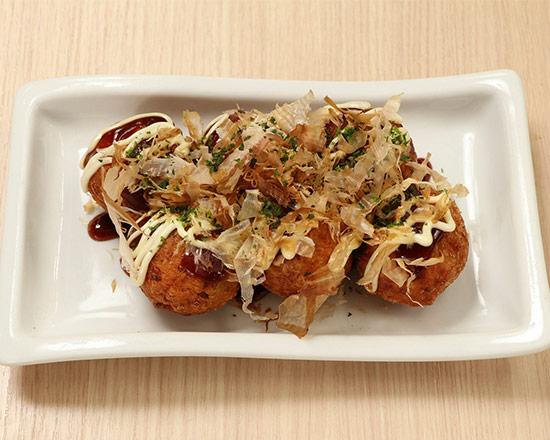 揚げたこ焼 Fried Takoyaki