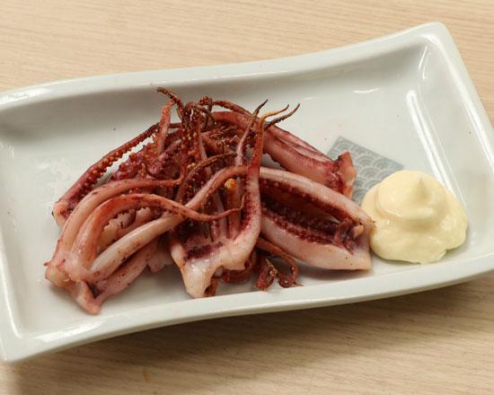 親父のイカゲソ焼 Roasted Squid Tentacles