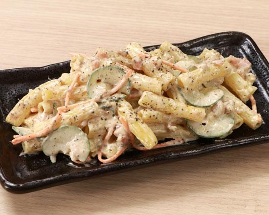 黒胡椒マカロニサラダ Black Pepper Macaroni Salad