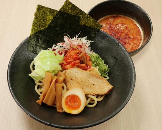 """旨辛濃厚鶏白湯つけ麺 Dipping-style Noodles :Hot & Spicy Chicken Soup""""Tsukemen"""""""