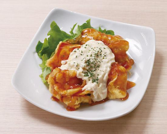 チキン南蛮 Deep-Fried Chicken with Sweet & Sour Sauce