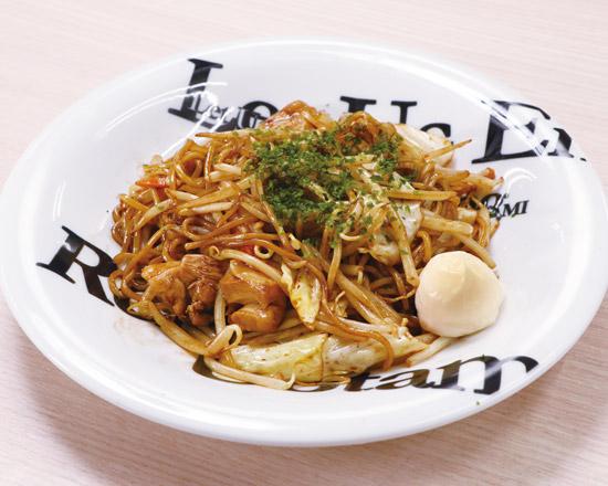 """下町のソース焼きそば  Sauce """"Yakisoba"""" Fried Noodles"""
