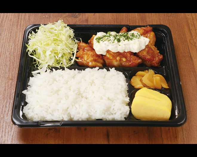 タルタル!チキン南蛮弁当 Fried Chicken with Vinegared Tartar Sauce Meal Box