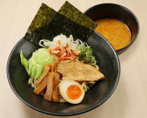 """濃厚海老鶏白湯つけ麺 Dipping-style Noodles :Chicken & Shrimp Mixed Soup """"Tsukemen"""""""