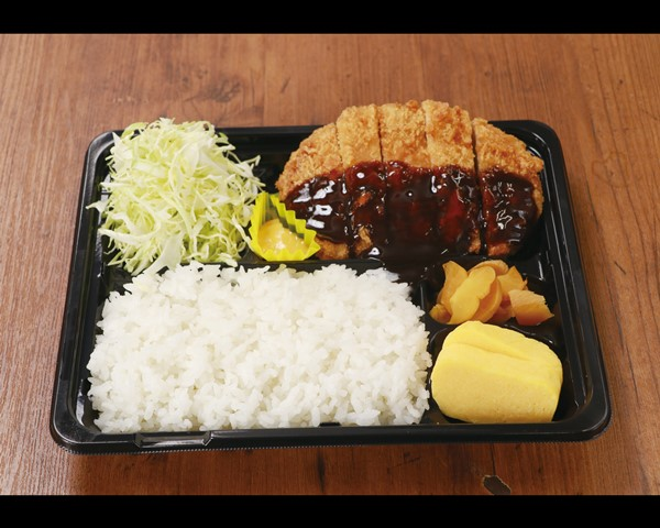 """トンカツ弁当 Pork Cutlet """"Tonkatsu"""" Meal Box"""