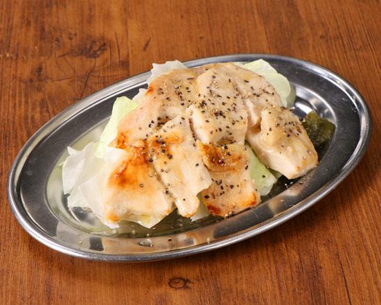 鶏むねグローブ焼(塩だれ)