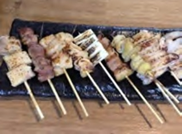 串焼盛り合せ(10種)