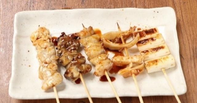 串焼盛り合せ (5種)