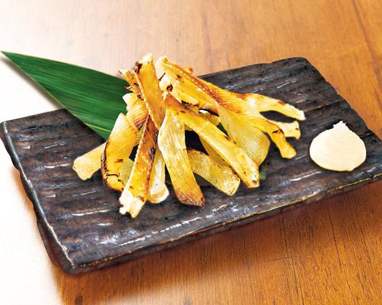 エイヒレの炙り焼 Grilled Stingray Fins