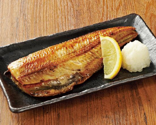 しまほっけの炙り焼 Broiled Atka Mackerel