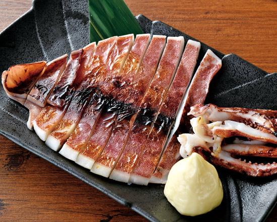 いかの一夜干し Grilled Dried Squid
