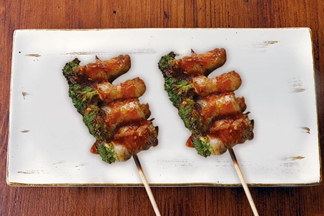 ブロッコリー肉巻き串 おろしぽん酢 1本