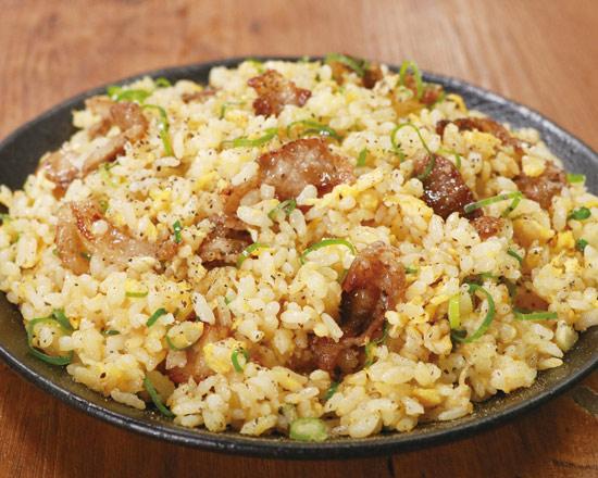 塩カルビチャーハン Salted Fatty Pork Fried Rice