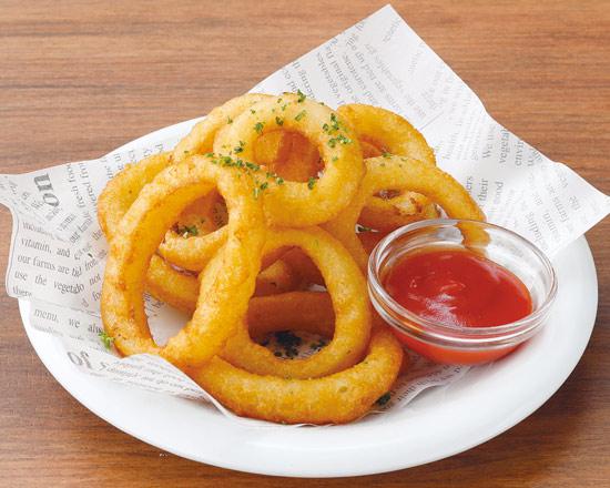 オニオンリングフライ Fried Onion Rings