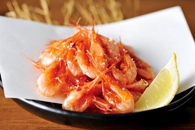 小海老の唐揚げ Fried Small Shrimp