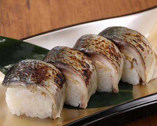 鯖の棒寿司(ハーフ)