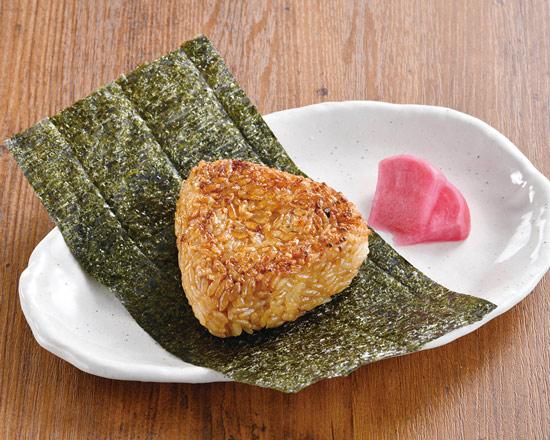 香ばし醤油の焼おにぎり 1ヶ Grilled Rice Ball with Savory Soy Sauce