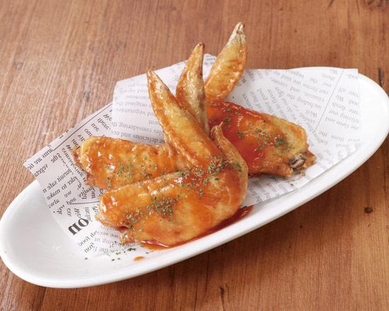 バリチキ(アメリカン風スパイシーバッファロー) American-Style Spicy Buffalo Chicken Wings