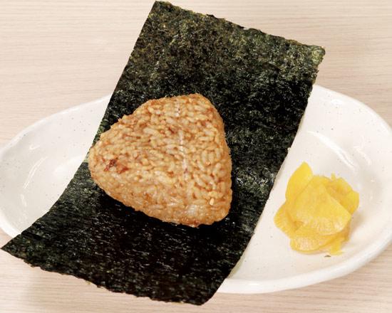 香ばし醤油の焼おにぎり Grilled Rice Ball with Savory Soy Sauce