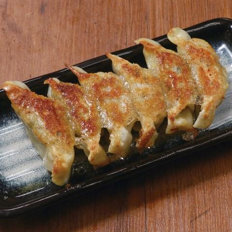 ニラ肉餃子