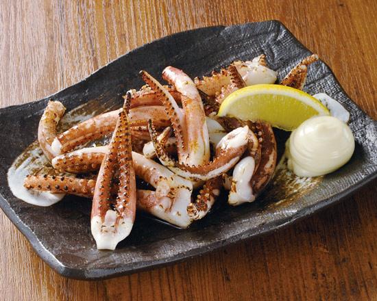 いか下足の炙り焼 Broiled Squid Tentacles
