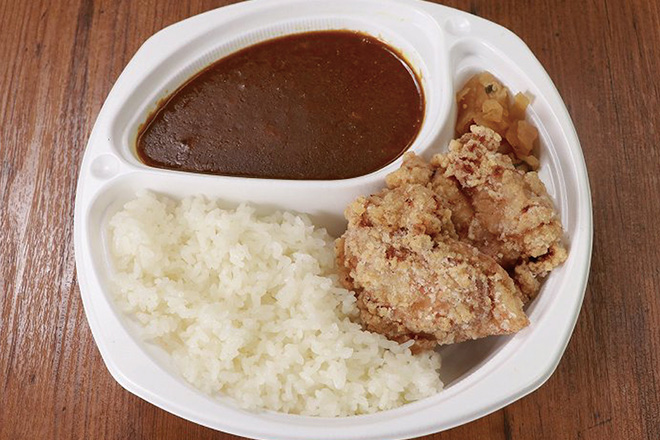 BIGからあげカレーBig Size Curry Rice with Fried Chicken