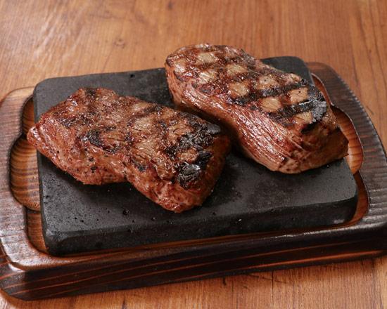 希少赤身ステーキ2種 イチボ150g&サブトン150g