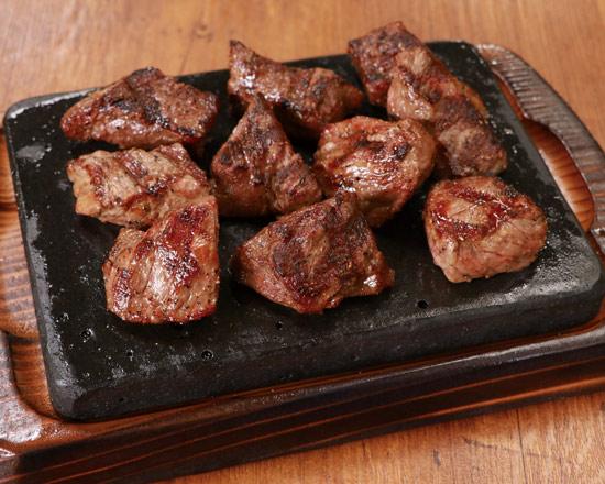 牛カットステーキ 220g(ライス付)