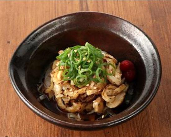 【国産鶏】鶏皮ぽん酢