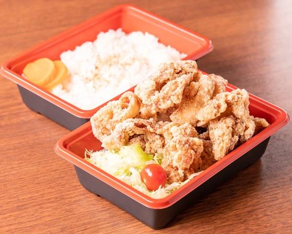 鶏の唐揚げ弁当 Deep-fried Chicken Meal Box