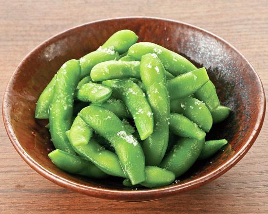 あったか!塩枝豆 Warm Salted Edamame Beans