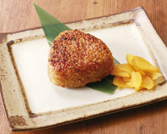 焼おにぎり(九州甘醤油) 1ヶ Grilled Rice Ball - Kyushu Sweet Soy Sauce (1 Piece)