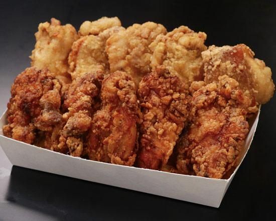 お得なBIGからあげ10ヶパック  Juicy big fried chicken value pack (10 pieces)