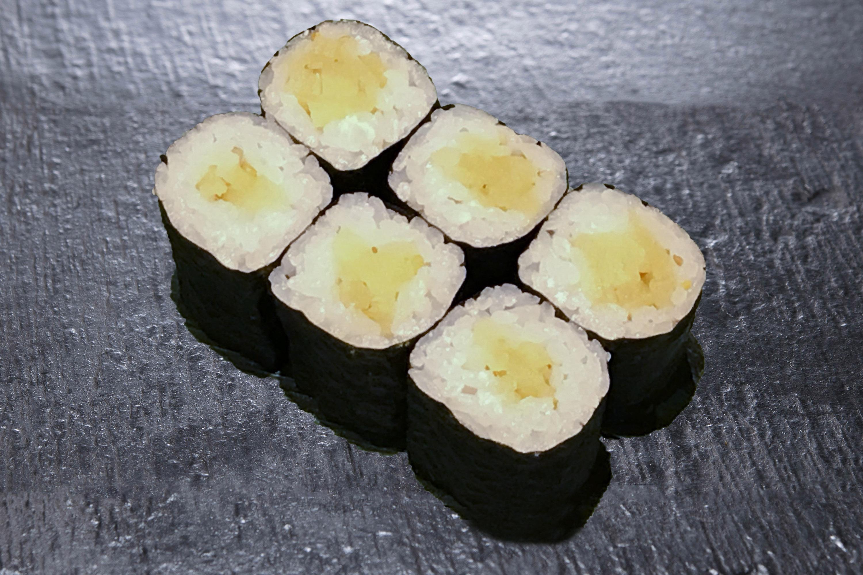 加賀野菜源助大根のおしんこ巻