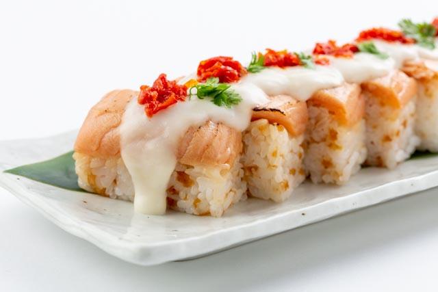 寿司 押し