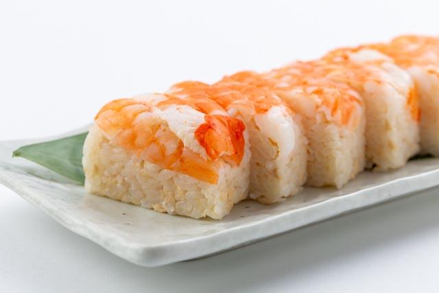 『えび押し寿司』