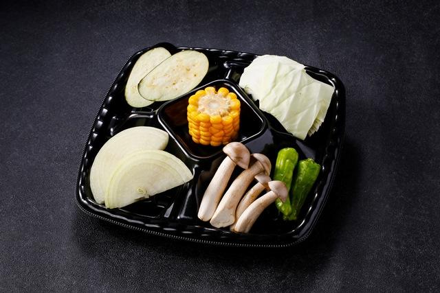 焼野菜の盛合せ