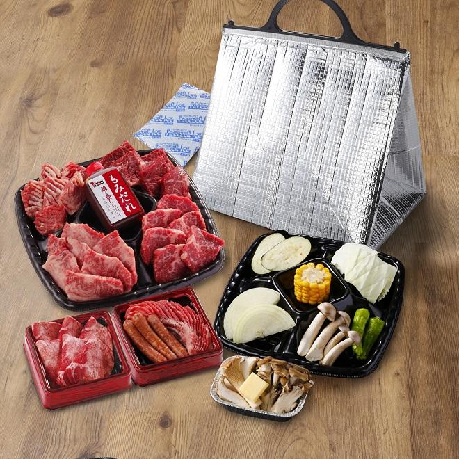 秋限定BBQセット(2~3人前)