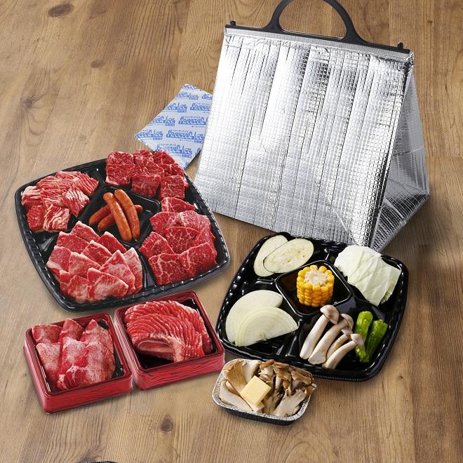 秋限定BBQセット(4~5人前)