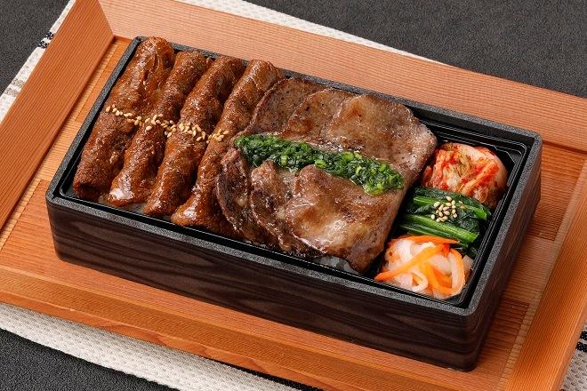 【平日限定】牛タン&上カルビ焼きしゃぶ重