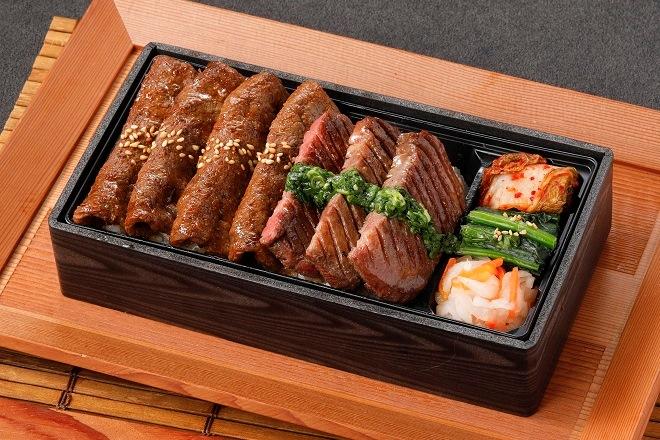 【平日限定】厚切り牛タン&上カルビ焼きしゃぶ重