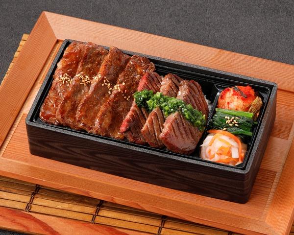 【平日限定】厚切り牛タン&国産牛カルビ重