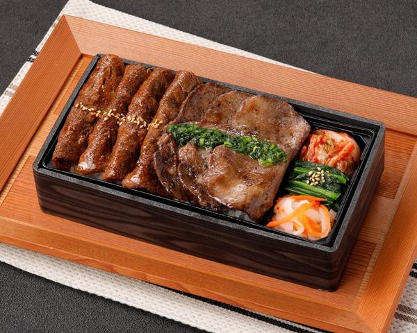 【平日限定】牛タン&国産牛焼きしゃぶ重