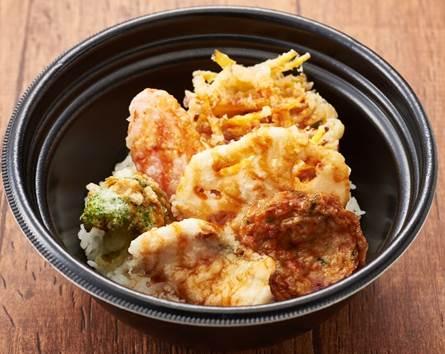 【期間限定九州フェア!】長崎県産真鯛と九州野菜の天丼